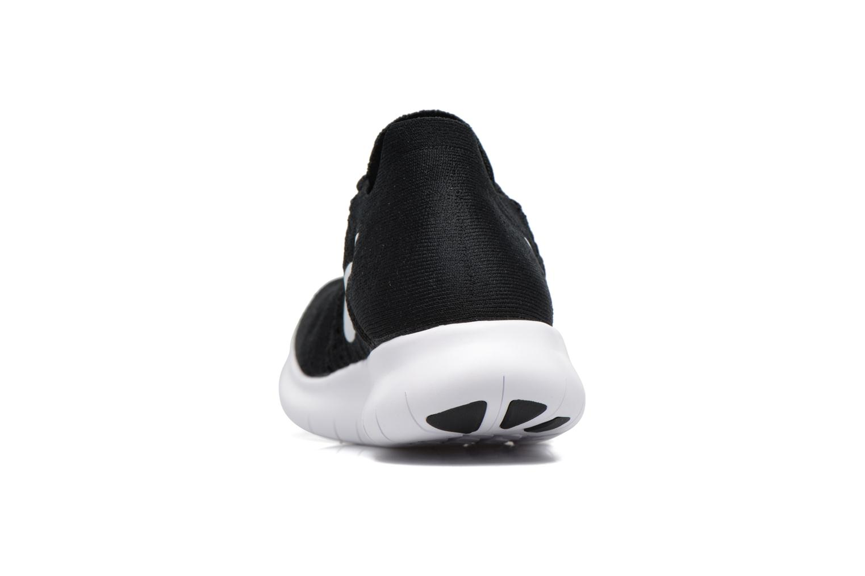 Zapatillas de deporte Nike Nike Free Rn Flyknit 2017 Negro vista lateral derecha