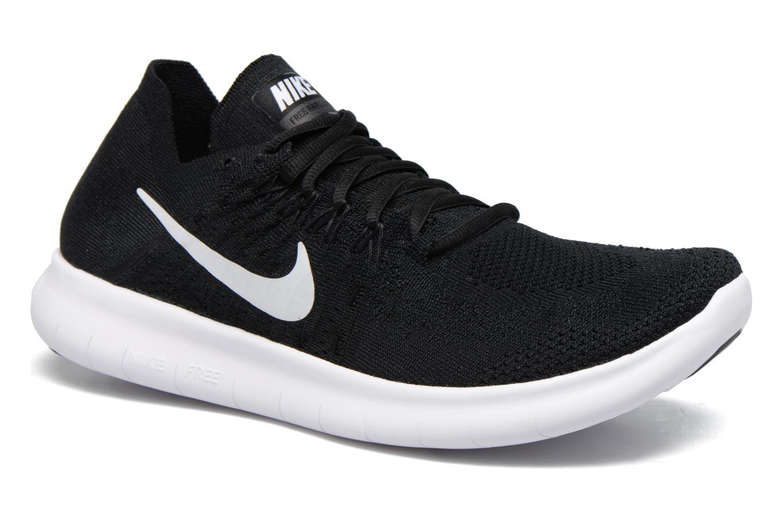 Zapatillas de deporte Nike Nike Free Rn Flyknit 2017 Negro vista de detalle / par