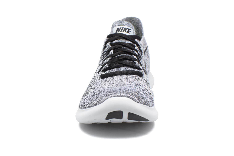 Nike Free Rn Flyknit 2017 White/Black-Stealth-Pure Platinum