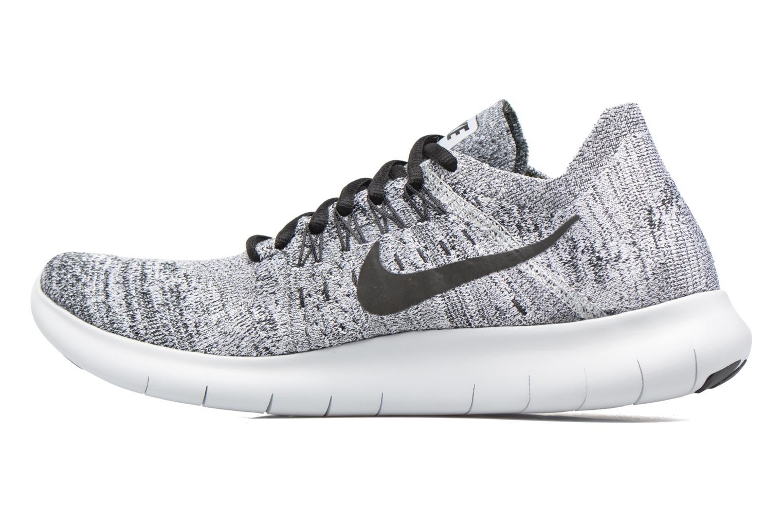 Chaussures de sport Nike Nike Free Rn Flyknit 2017 Gris vue face