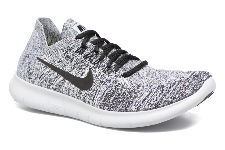 Chaussures de sport Nike Nike Free Rn Flyknit 2017 Gris vue détail/paire