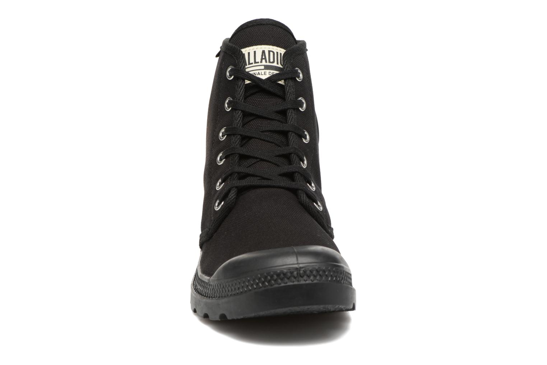 Sneaker Palladium Pampa Hi Orig U schwarz schuhe getragen