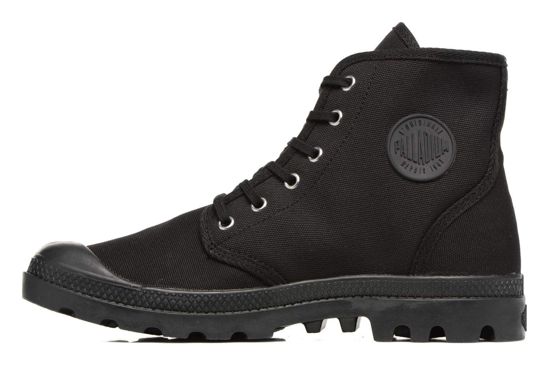 Sneakers Palladium Pampa Hi Orig U Zwart voorkant