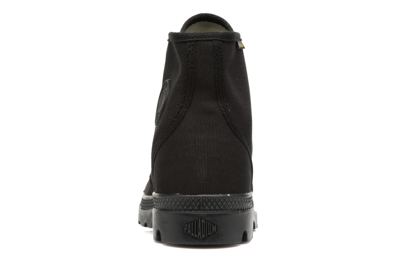 Sneaker Palladium Pampa Hi Orig U schwarz ansicht von rechts
