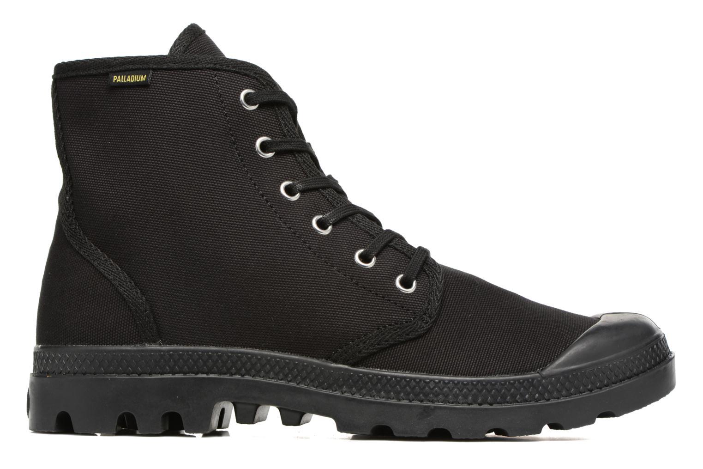 Sneaker Palladium Pampa Hi Orig U schwarz ansicht von hinten