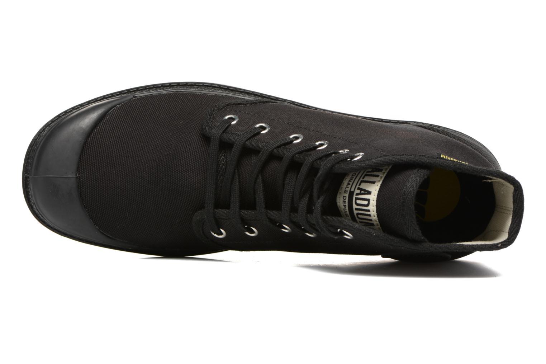 Sneaker Palladium Pampa Hi Orig U schwarz ansicht von links