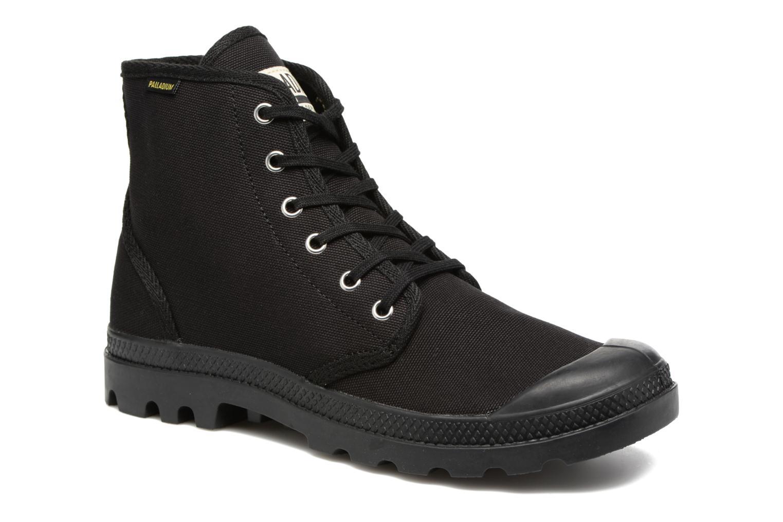 Sneakers Palladium Pampa Hi Orig U Sort detaljeret billede af skoene