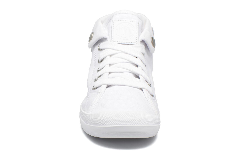 Baskets Palladium Aventure F Blanc vue portées chaussures