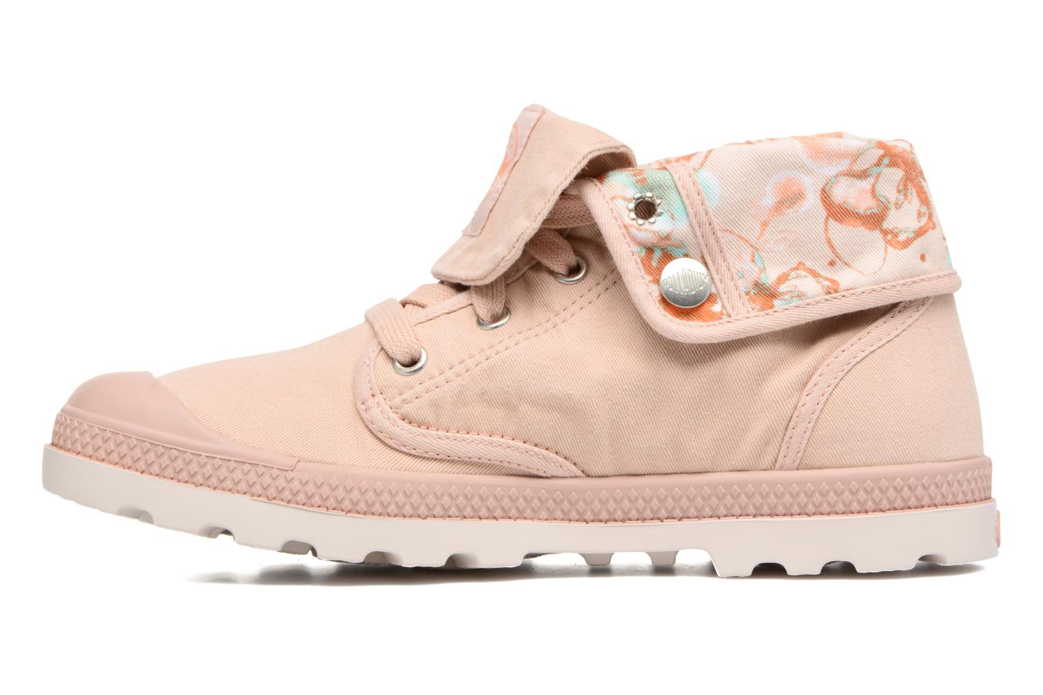 Trainers Palladium Baggy Lp Tw P F Pink front view