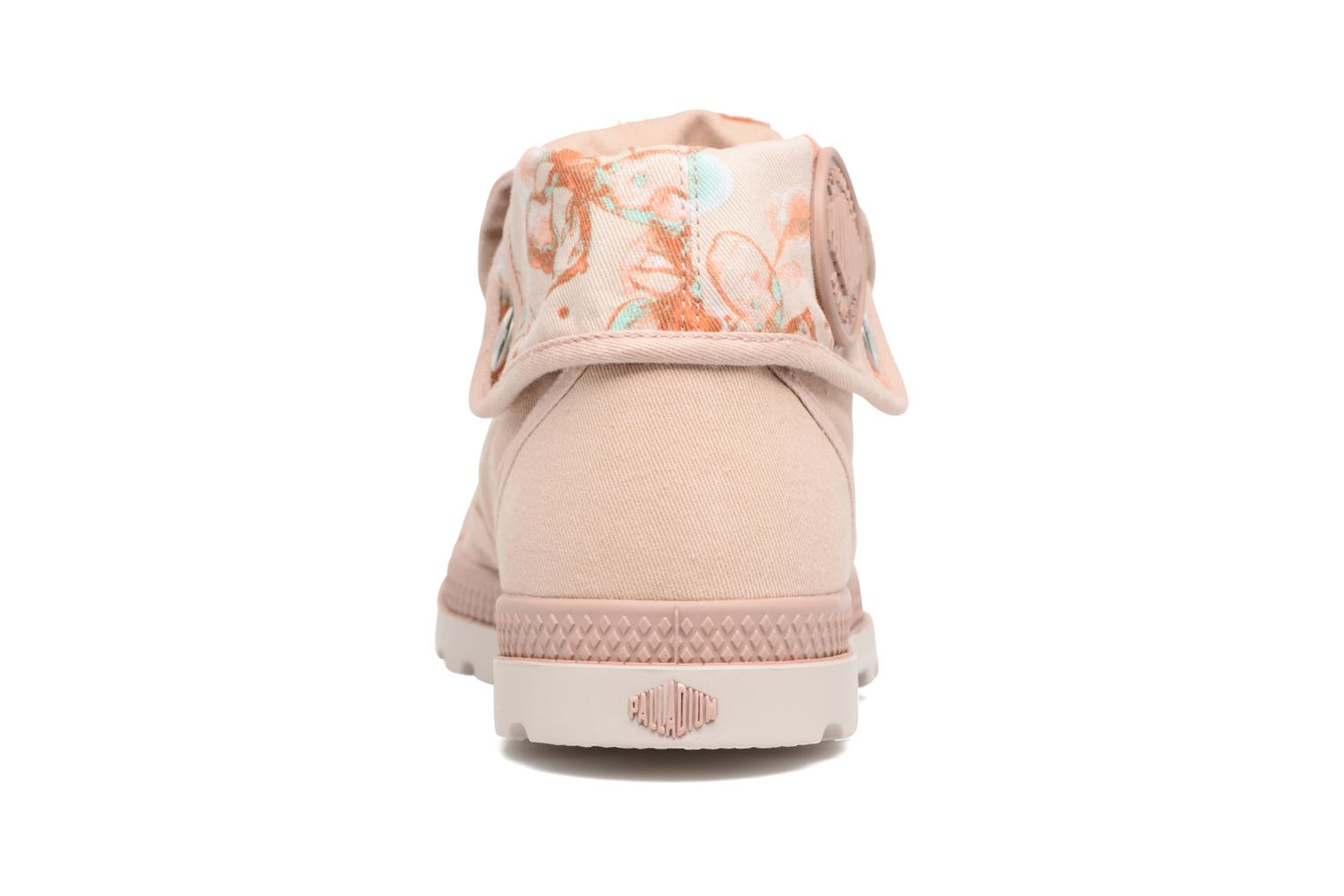 Trainers Palladium Baggy Lp Tw P F Pink view from the right