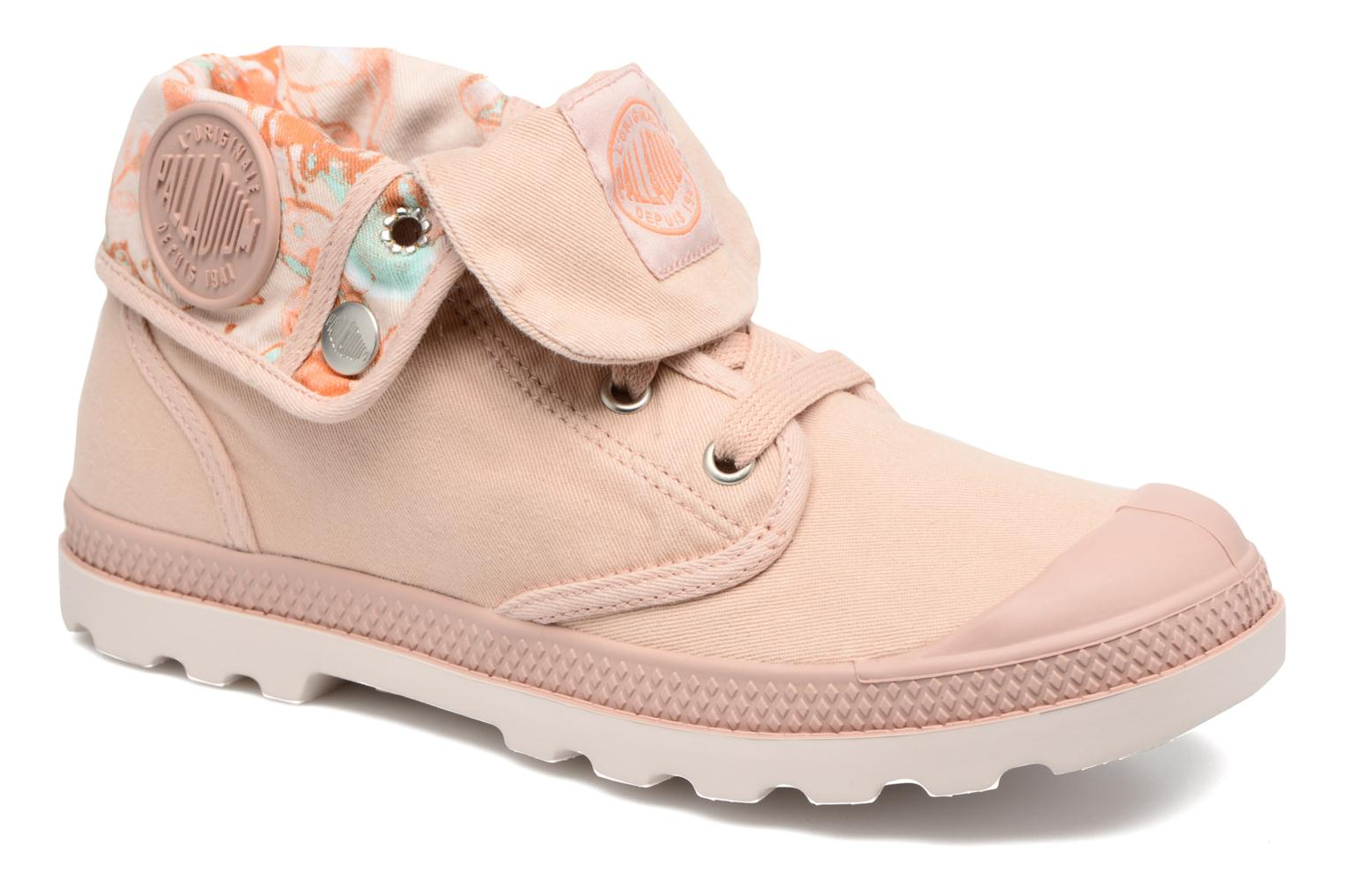 Baskets Palladium Baggy Lp Tw P F Rose vue détail/paire