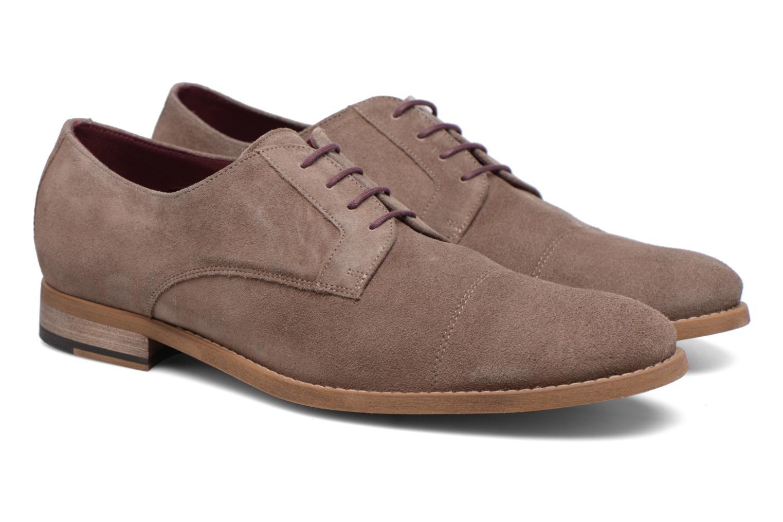 Chaussures à lacets Le Formier Arudi Marron vue 3/4