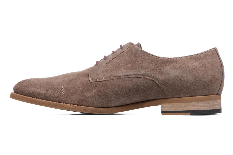 Chaussures à lacets Le Formier Arudi Marron vue face