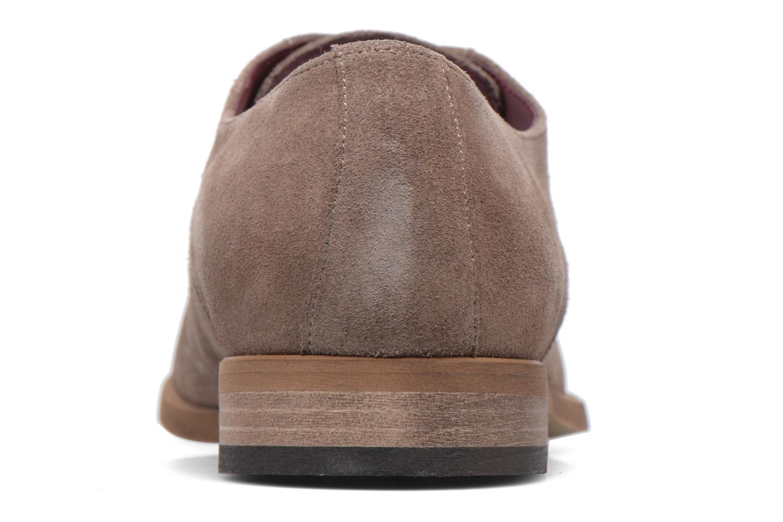 Chaussures à lacets Le Formier Arudi Marron vue droite