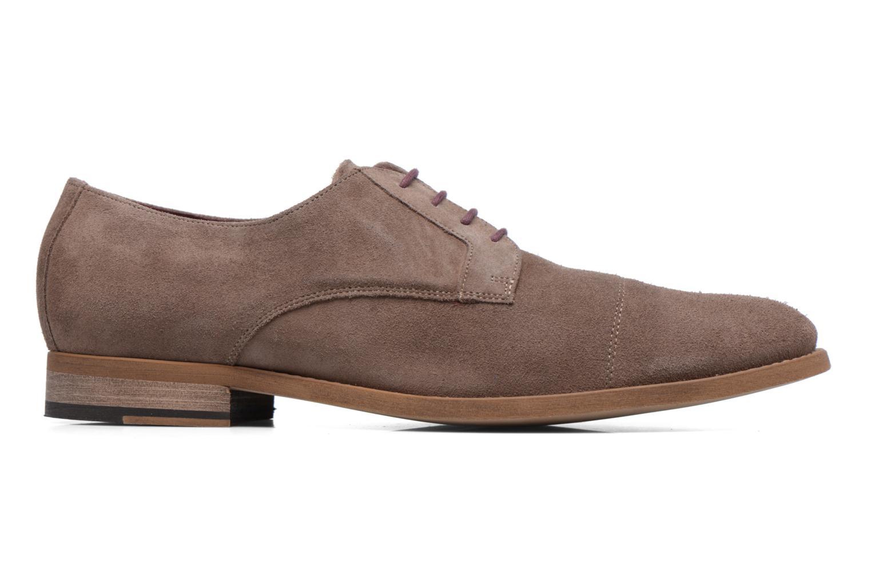Chaussures à lacets Le Formier Arudi Marron vue derrière