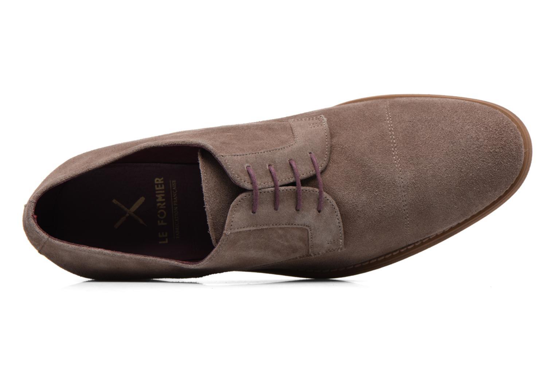 Chaussures à lacets Le Formier Arudi Marron vue gauche