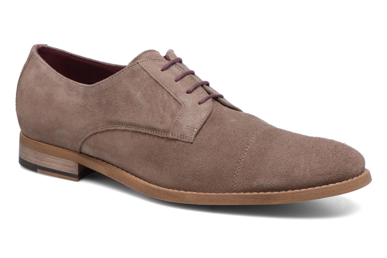 Chaussures à lacets Le Formier Arudi Marron vue détail/paire