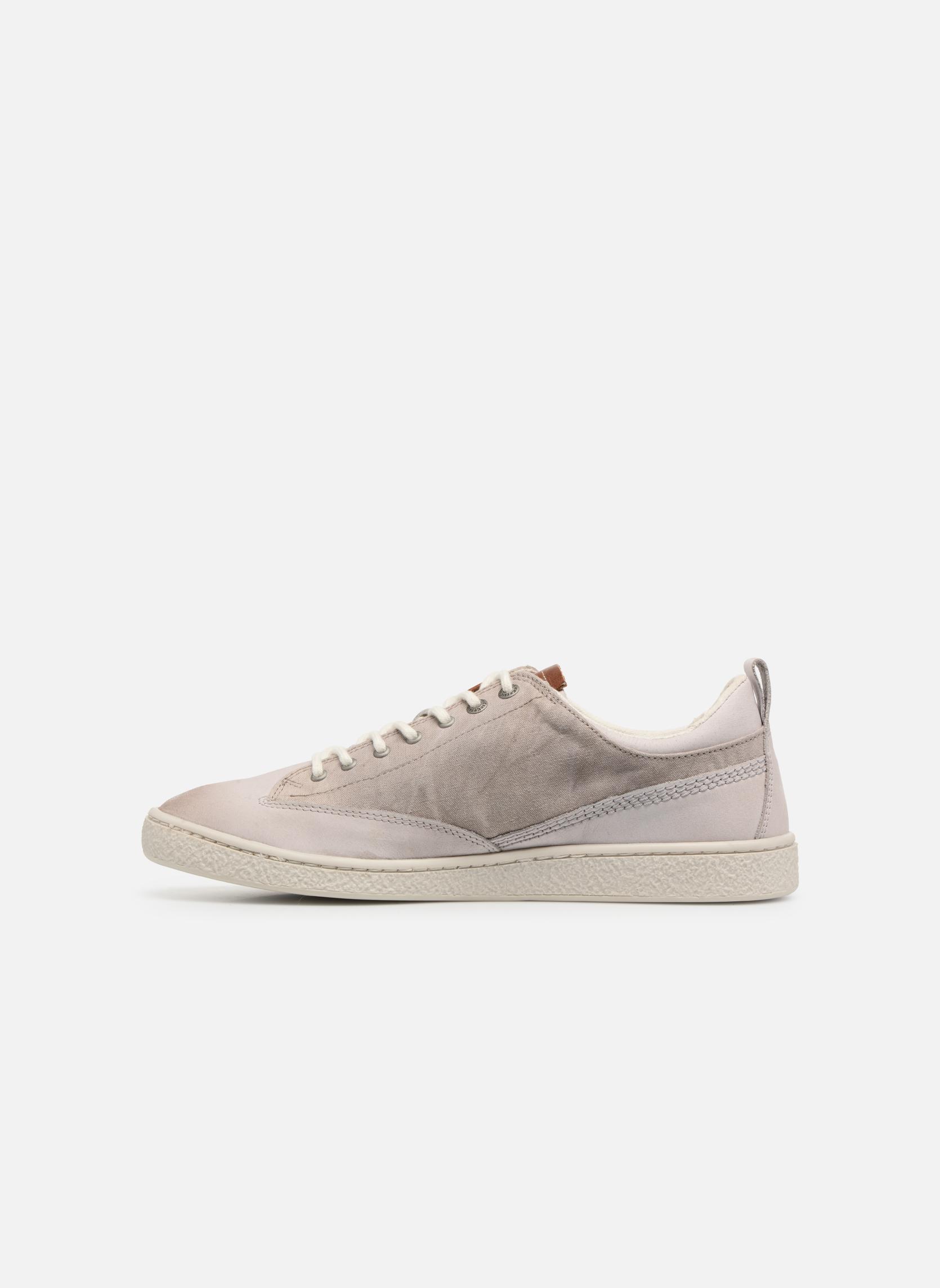 Sneakers Kickers Santa Fe Wit voorkant