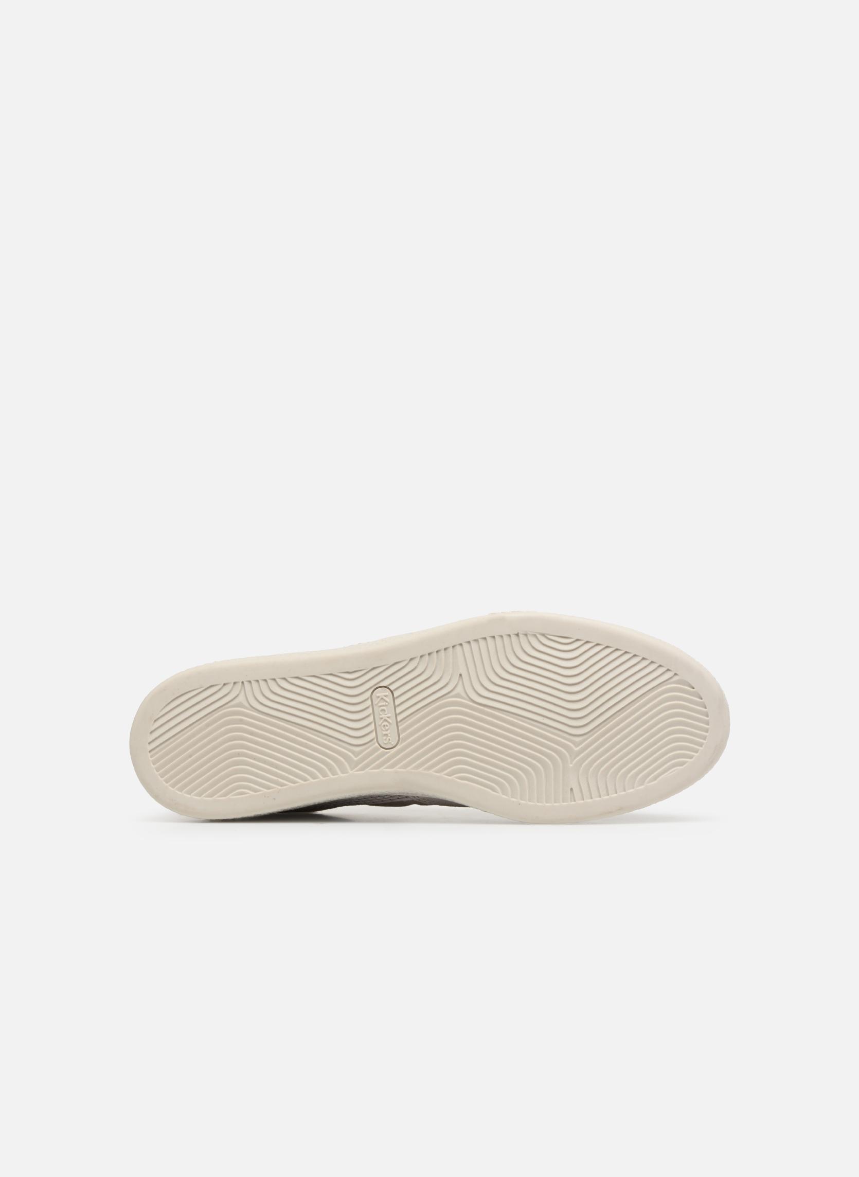 Sneakers Kickers Santa Fe Wit boven