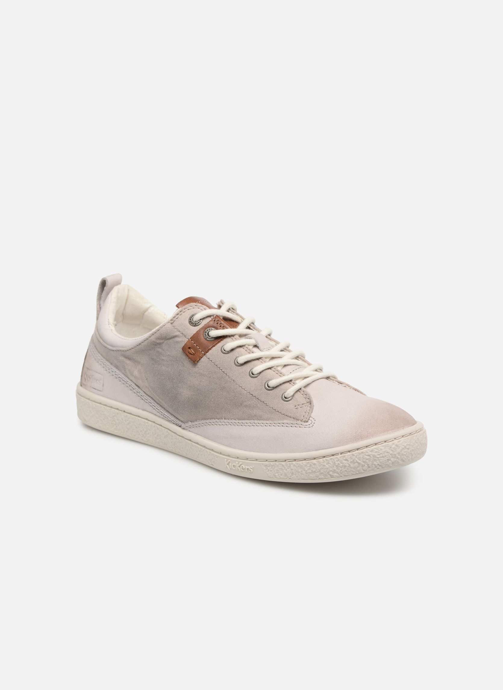 Sneakers Kickers Santa Fe Hvid detaljeret billede af skoene