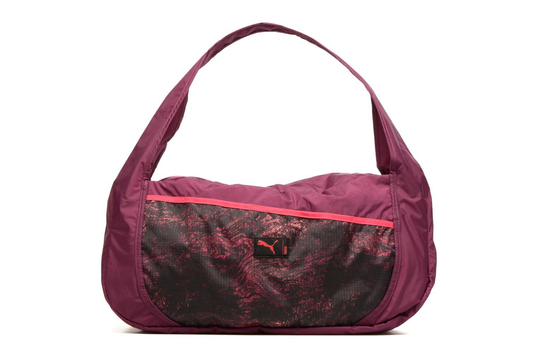 Sporttassen Puma Studio Barrel Bag Roze detail