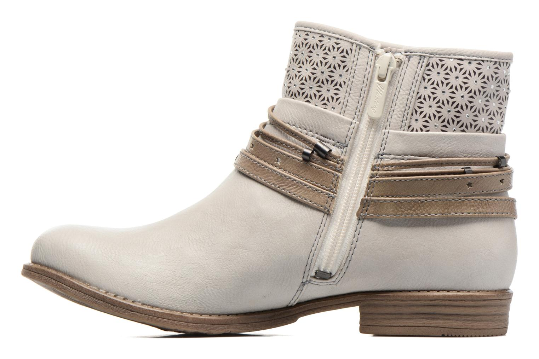Bottines et boots Mustang shoes Calliope Beige vue face