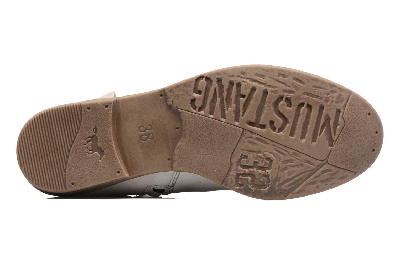 Bottines et boots Mustang shoes Calliope Beige vue haut