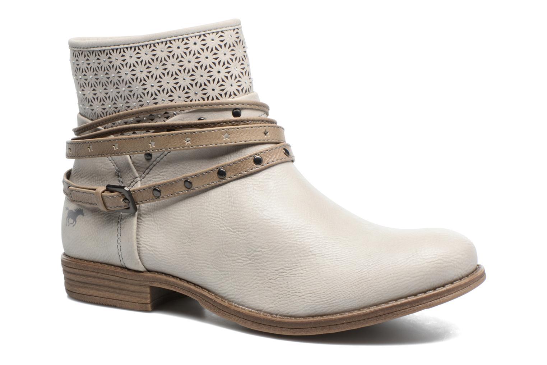 Bottines et boots Mustang shoes Calliope Beige vue détail/paire