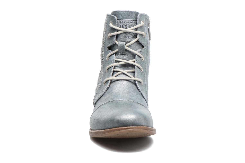 Stiefeletten & Boots Mustang shoes Chiara grau schuhe getragen
