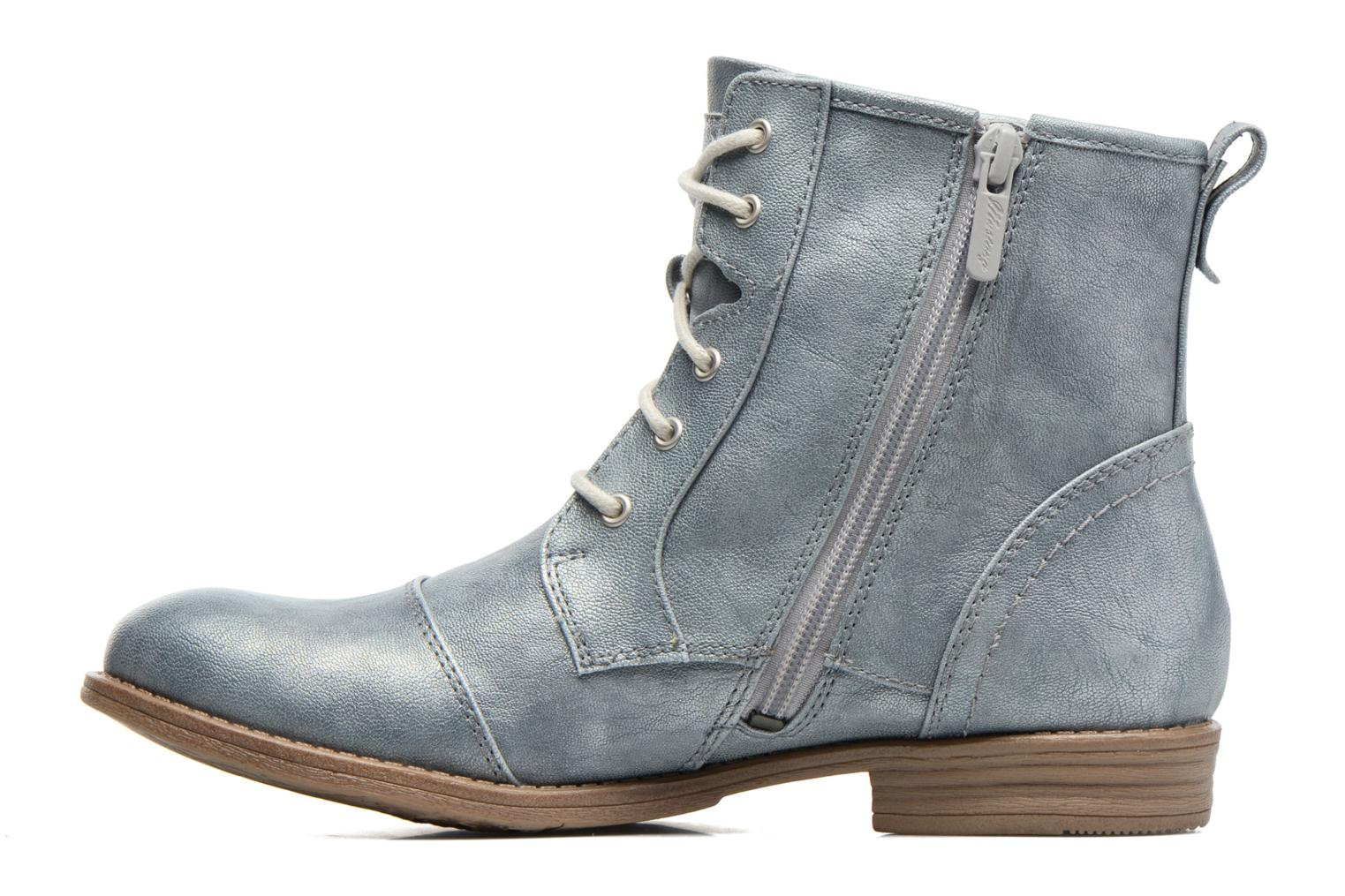 Ankle boots Mustang shoes Chiara Grey front view