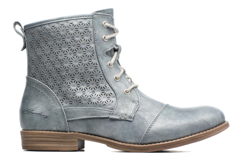Boots en enkellaarsjes Mustang shoes Chiara Grijs achterkant