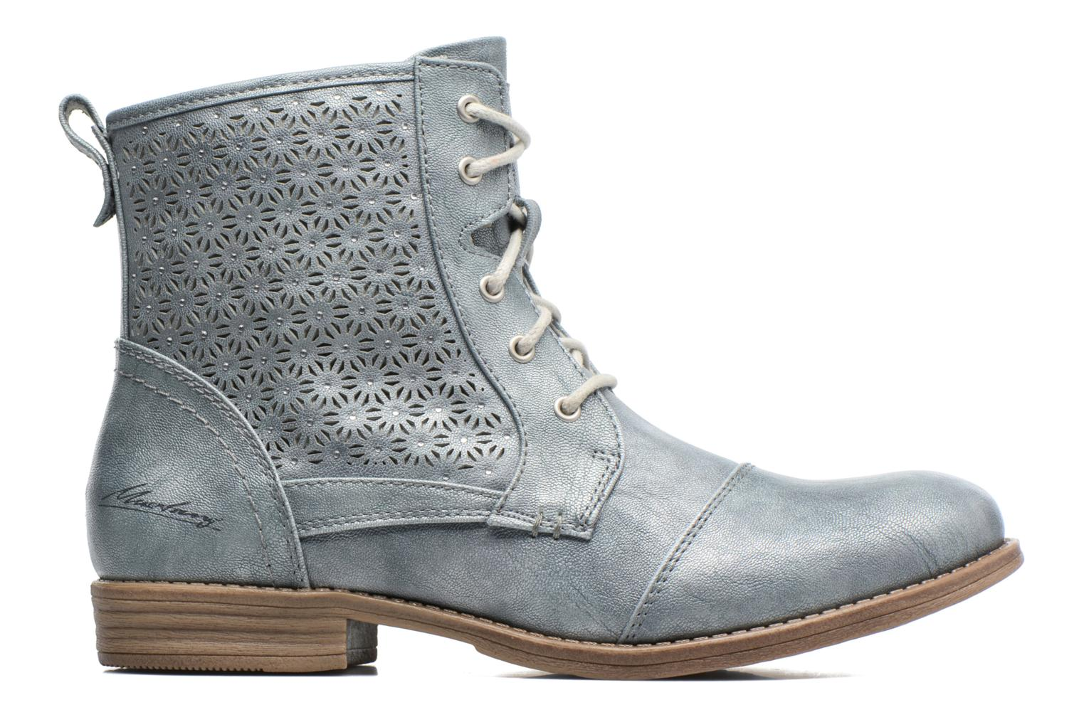 Ankle boots Mustang shoes Chiara Grey back view