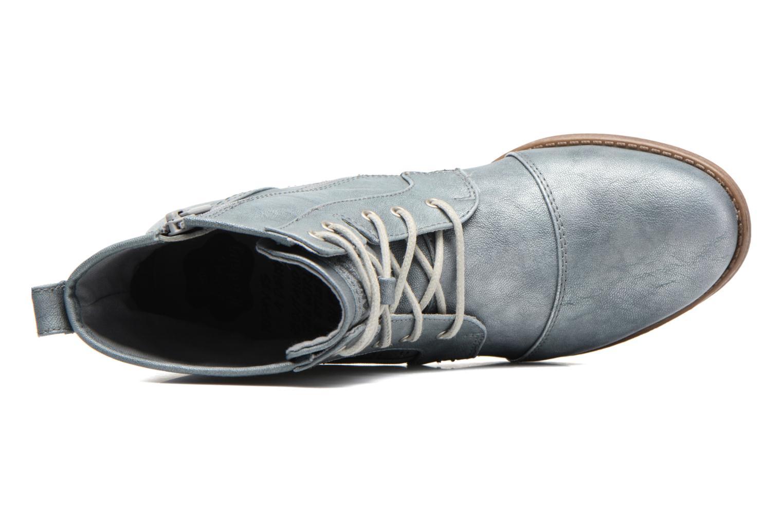 Stiefeletten & Boots Mustang shoes Chiara grau ansicht von links