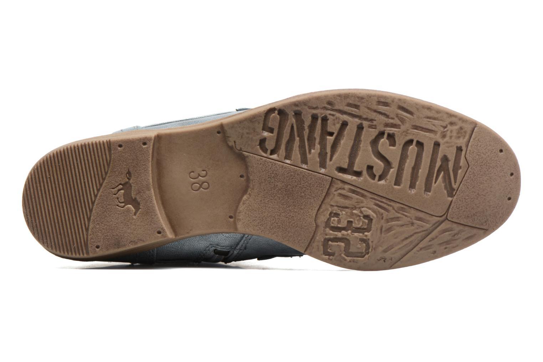 Bottines et boots Mustang shoes Chiara Gris vue haut