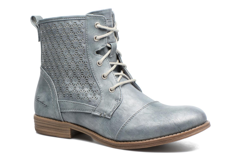 Bottines et boots Mustang shoes Chiara Gris vue détail/paire