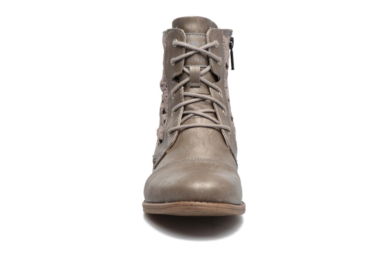 Bottines et boots Mustang shoes Chiara Gris vue portées chaussures