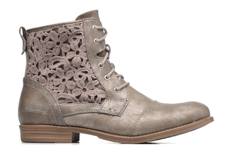 Bottines et boots Mustang shoes Chiara Gris vue derrière