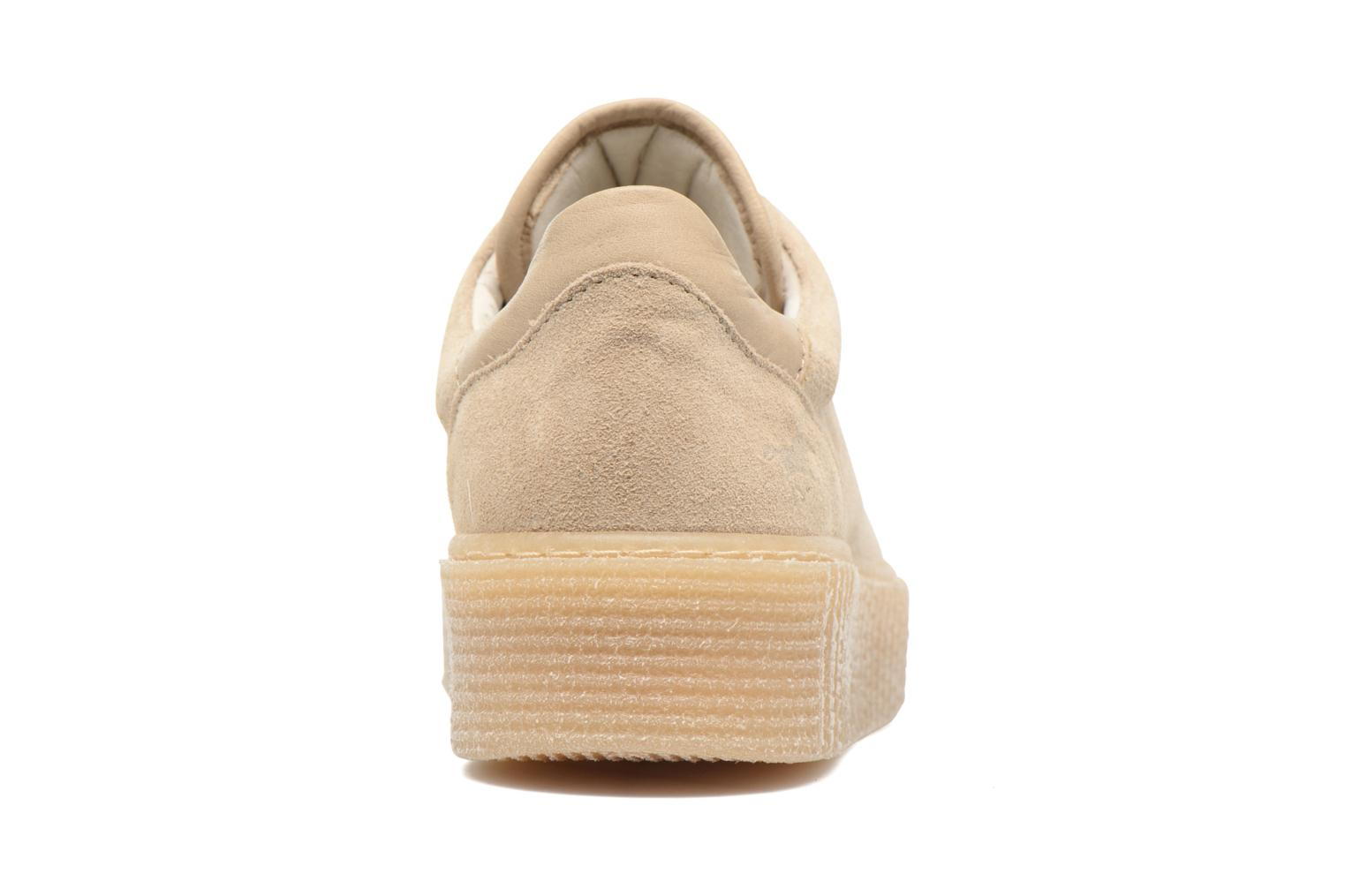 Baskets Mustang shoes Cara Beige vue droite