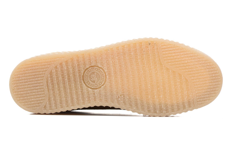 Sneaker Mustang shoes Cara beige ansicht von oben