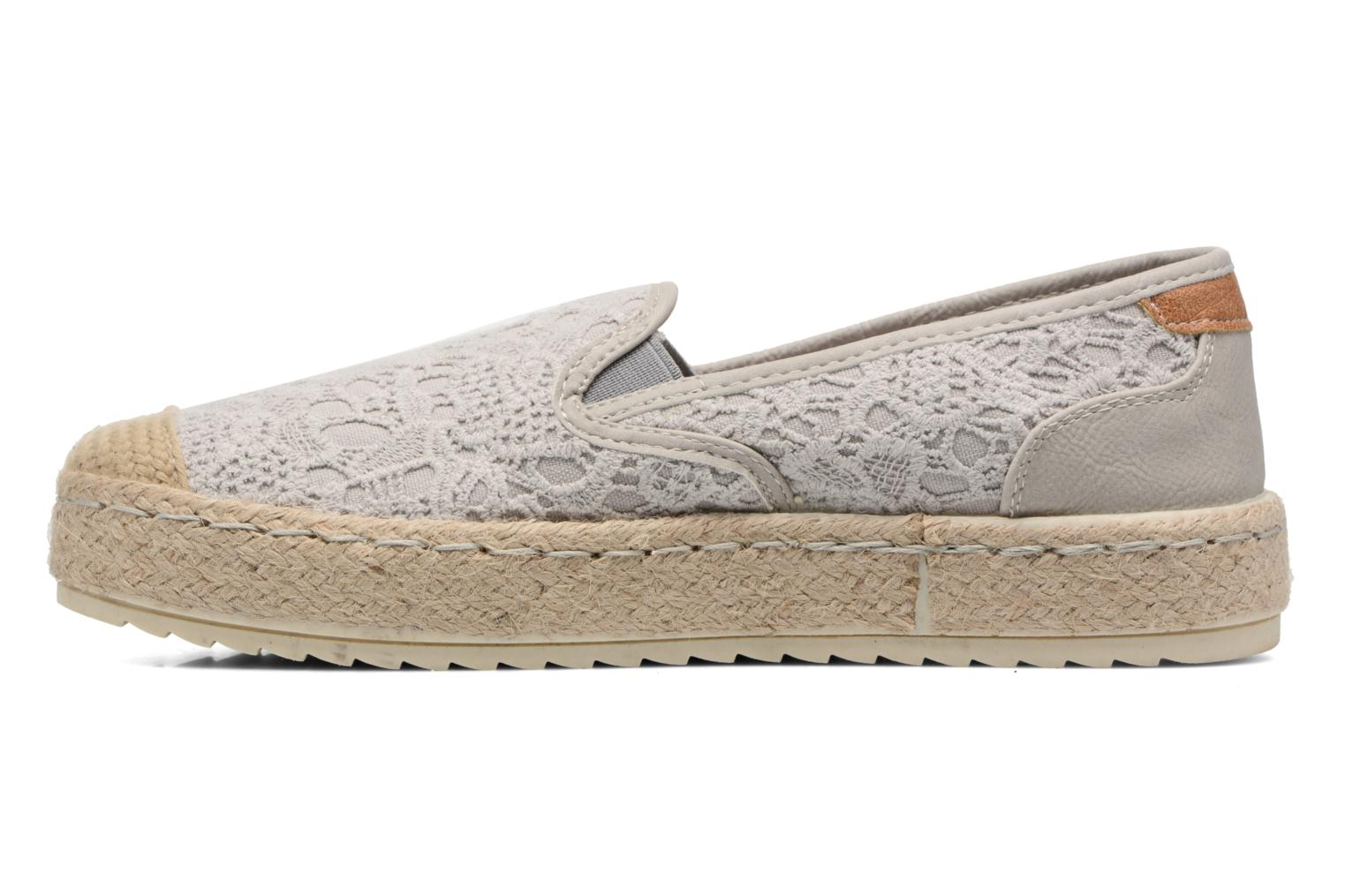 Espadrilles Mustang shoes Liese Grey front view