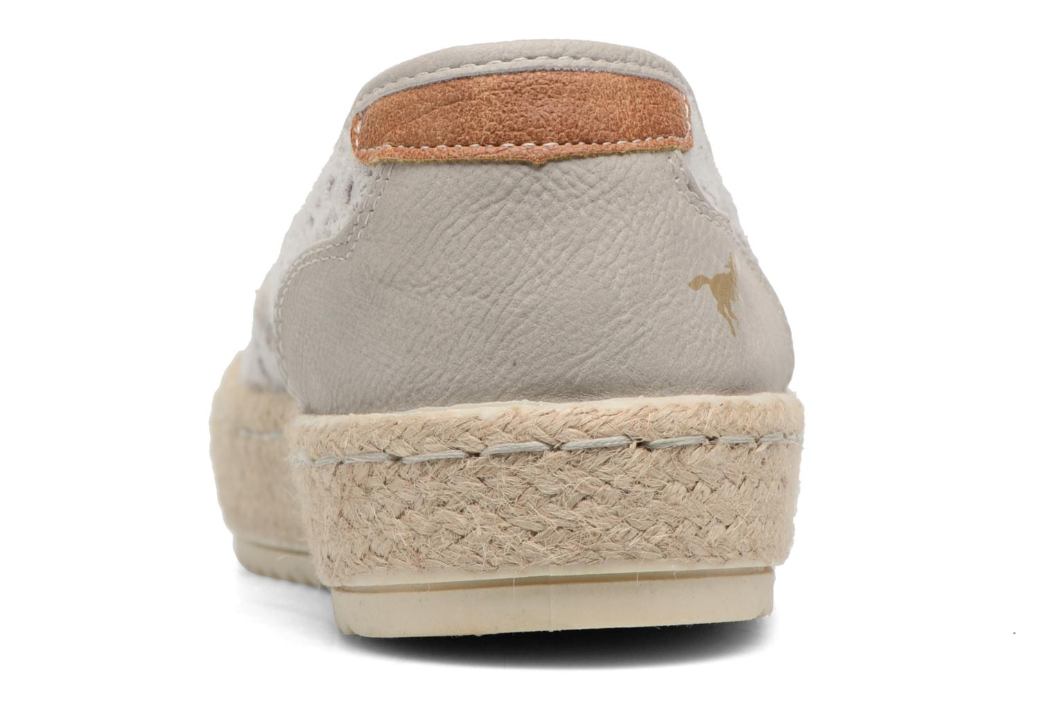 Espadrilles Mustang shoes Liese Grey view from the right