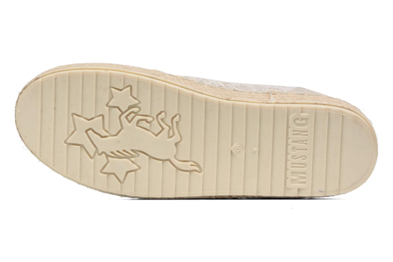 Espadrilles Mustang shoes Liese Gris vue haut