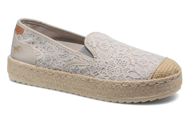 Scarpe di corda Mustang shoes Liese Grigio vedi dettaglio/paio