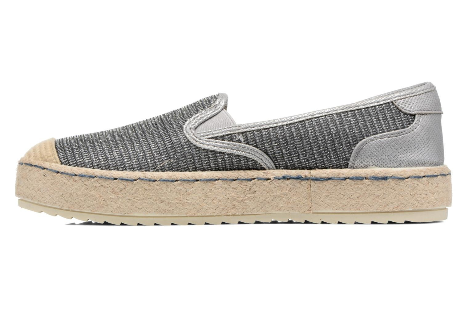 Espadrilles Mustang shoes Silke Grey front view