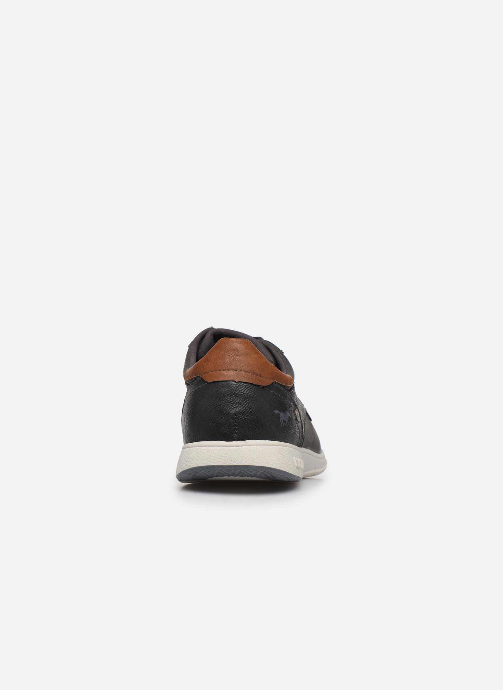Sneaker Mustang shoes Gregor grau ansicht von rechts