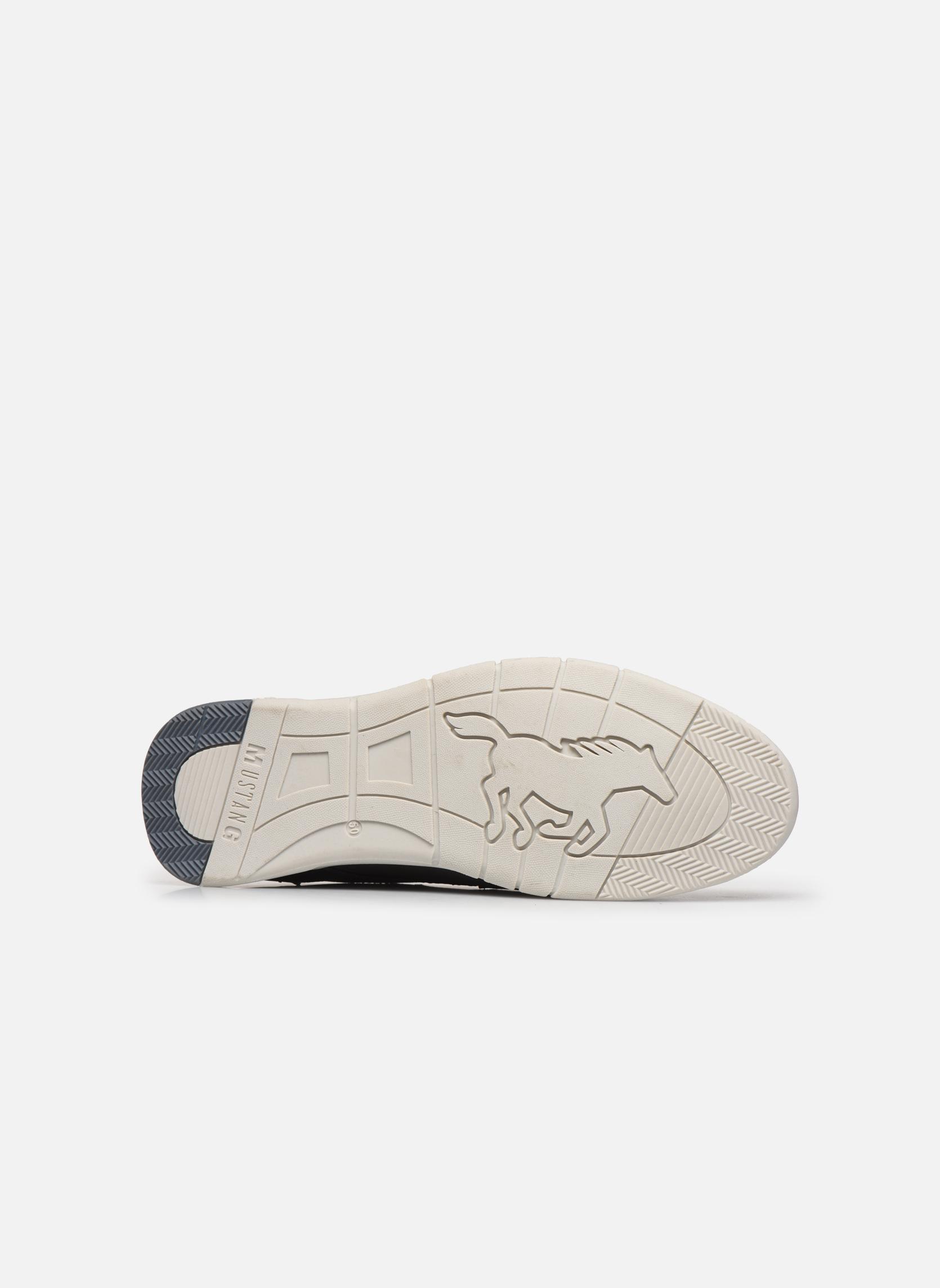 Baskets Mustang shoes Gregor Gris vue haut