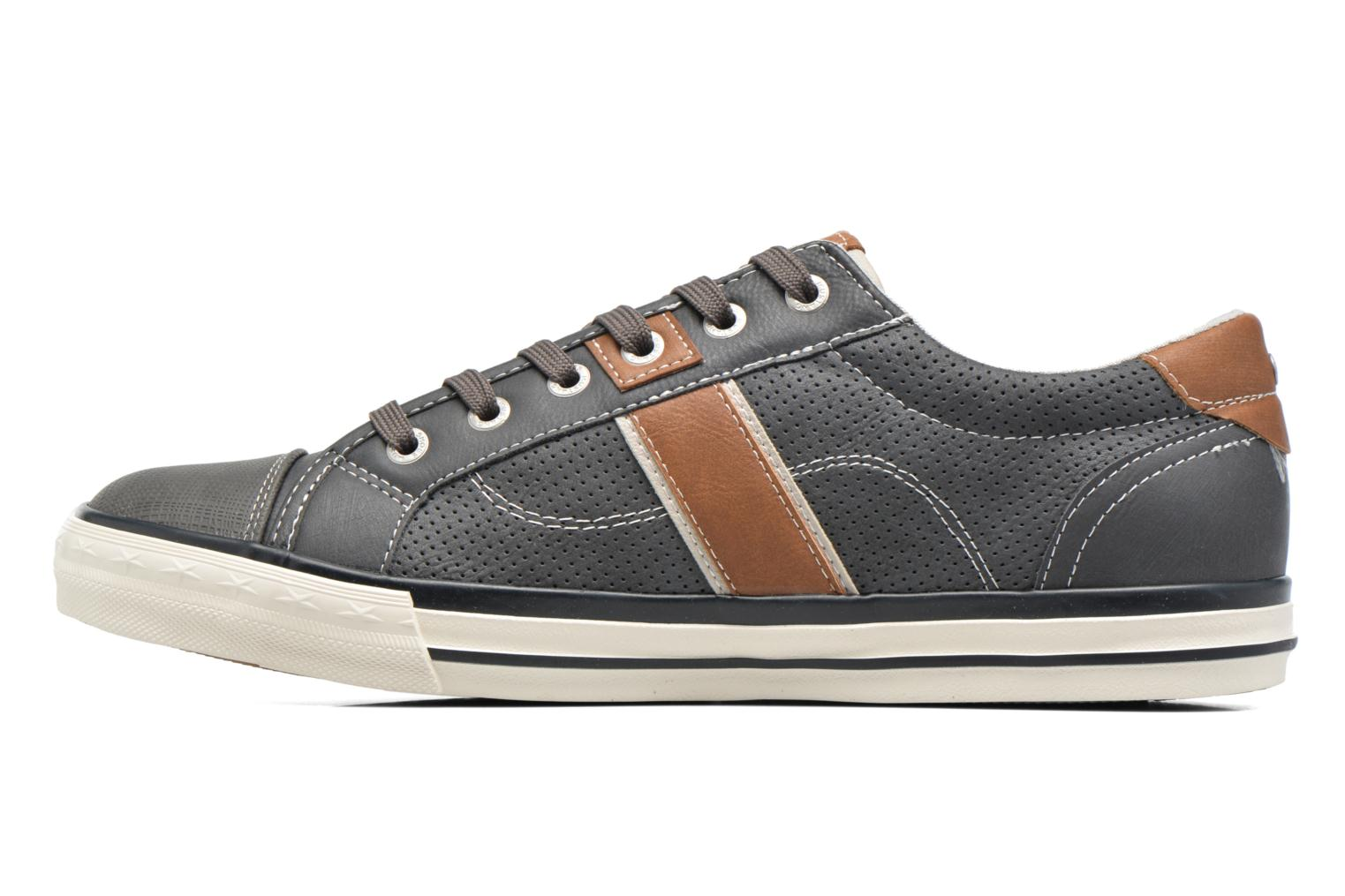 Sneakers Mustang shoes Ralf Grigio immagine frontale