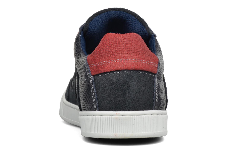 Baskets Mustang shoes Bruder Bleu vue droite