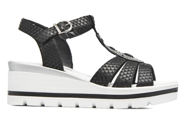 Sandales et nu-pieds Remonte Maya D1550 Noir vue derrière