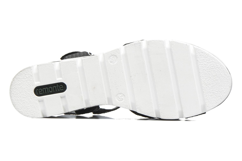 Sandales et nu-pieds Remonte Maya D1550 Noir vue haut